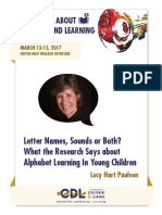 Paulson Letter Names Sounds