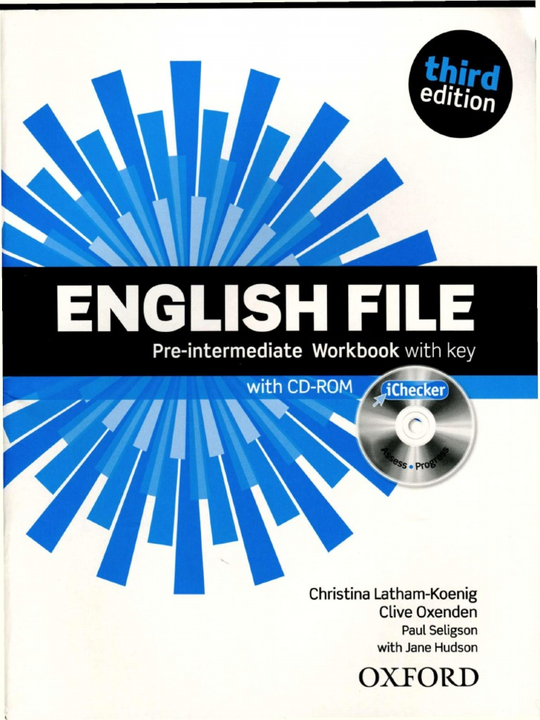 English File Pre Intermediate 3e Workbook Computer File English Language