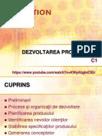 DP C1.1 Consideratii Generale