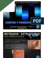 Clase 2009-II 04 Costos MetradosIII