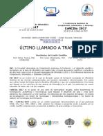 ÚLTIMO  LLAMADO EVI-CoNCISa 2017.pdf