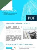 Fórmula polinómica
