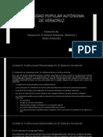 Exposicion de Introduccion Al Derecho Ambiental