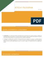 Sistemática y filogenia el mero
