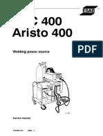 Esab Luc 400 Aristo 400