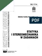 Statyka i Stereomechanika w Zadaniach - Zdzisław Iwulski, Robert Klisowski