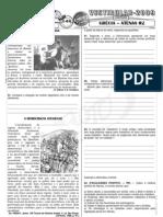 História - Pré-Vestibular Impacto - Grécia - Atenas - Exercícios