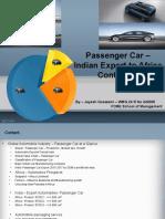 Export Management _Passenger Car Exports