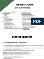 Guia para desarrollar el plan de negocios