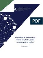 Informe Indicador de Precios