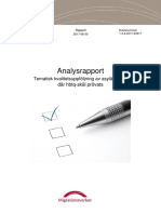 Migrationsverkets analysrapport