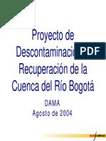 DAMA 2004 Descontaminacion Rio Bogota