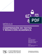 Modulo Comp. Textos y Red. Acad
