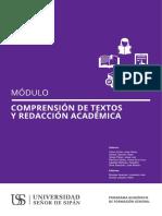 Modulo Comp. Textos y Red. Acad