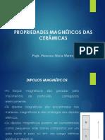 Aula 1- Propriedades Magnéticas Das Cerâmicas