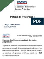 Perdas de Protensão-CP