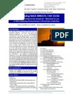 Understanding NACE MR0175_ISO 15156
