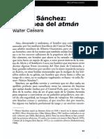 Nestor Sanchez La Odisea Del Atman