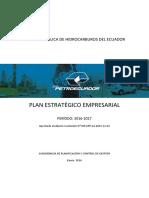 Petroecuador Plan Estrategico