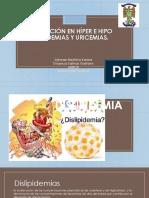 Expo Nutrio Dislipidemias y Hiperuricemias
