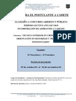 Guia Postulante Cadetes 2017 2019
