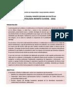 Programa de La III Version Del Diploma Psicopatologia Infanto Juvenil