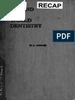 Around the World Dentistry 1910