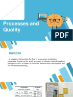 Procesess and quality
