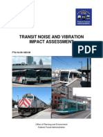 FTA Noise and Vibration Manual