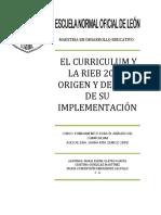 La Rieb 2009 y El Curriculum