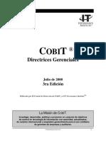 COBIT 3ra edición - Directrices Gerenciales