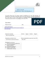 Pauta Resumida Evaluacion de Sitios Web
