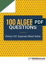Hit bulls Eye Algebra Questions
