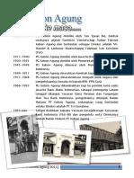 Profil Singkat PG Kebon Agung
