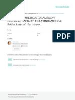 ETNICIDAD, MULTICULTURALISMO Y POLÍTICAS SOCIALES EN LATINOAMÉRICA