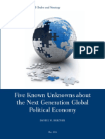 Five Known Unknowns about the Next Generation Global Political Economy by Daniel W. Drezner