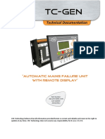 Technical Documentation TC GEN