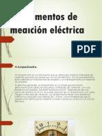 Instrumentos de Medición Eléctrica