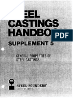 SCH, S5, General Properties of Steel Casting
