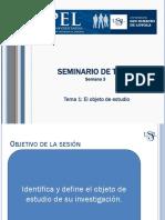 SEM3-TEMA1-El Objeto de Estudio