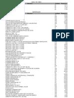 Cotizacion de Materiales Con PreCios