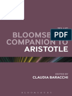Baracchi, C. (Ed.) - The Bloomsbury Companion to Aristotle (2014)