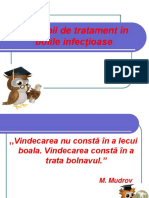 Principii de Tratament in Bolile Infectioase