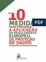 10 Medidas Para Preparar RGPD CNPD