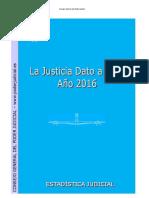 Justicia Dato a Dato Año 2016