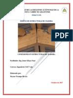 Conexiones en Estructuras de Madera Steyner