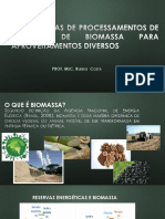 Alternativas Ambientalmente Adequadas de Aproveitamento de Biomassa