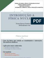 1. Introdução a Física Nuclear