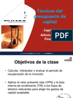 Presentacion 2 a Cap 9 Tecnicas Del Presup Capital