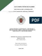 Nieves Sánchez Garre - Evolución de La Fotografía a través de Carrol. Alicia y a Través Del Espejo